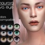 Линзы Nova Eye от Fionaurora для Симс 4