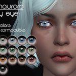Линзы Icy Eye от Fionaurora для Симс 4