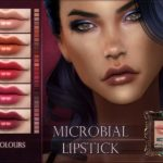 Блеск для губ Microbial Lipstick для Симс 4
