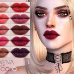 Блеск для губ Rowena Lip Color N169 для Симс 4
