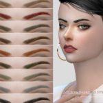 Брови Eyebrows F201712 от S-Club для Симс 4