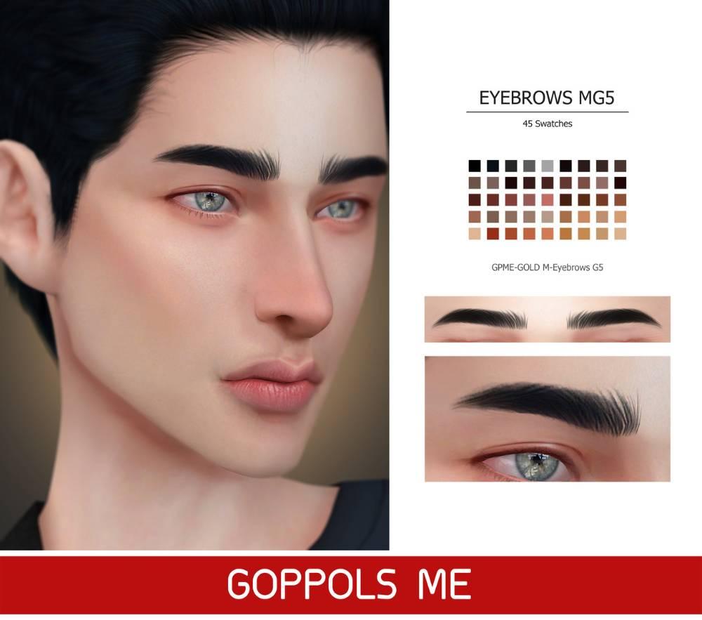 Брови Eyebrows G5 для Симс 4