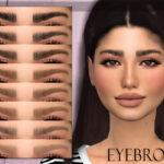 Брови Eyebrows N16 для Симс 4