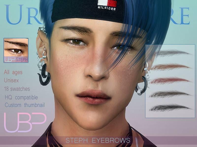Брови Steph eyebrows для Симс 4