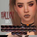 Глаза вампира Hallow Eyes от DFJ для Симс 4