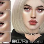 Хайлайтер Brilliance Highlighter Kit N43 для Симс 4