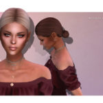 Прическа Hope от Nightcrawler Sims для Симс 4