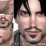 Бороды для мужчин Симс 4