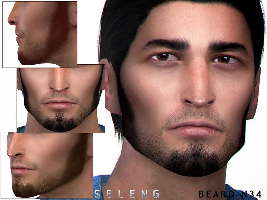 Мужские бороды Симс 4
