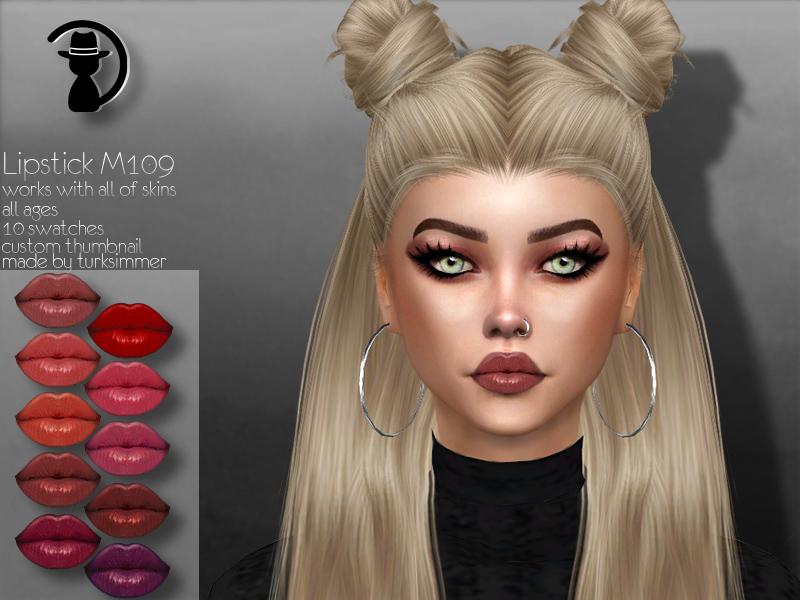 Помада Lipstick M109 для Симс 4