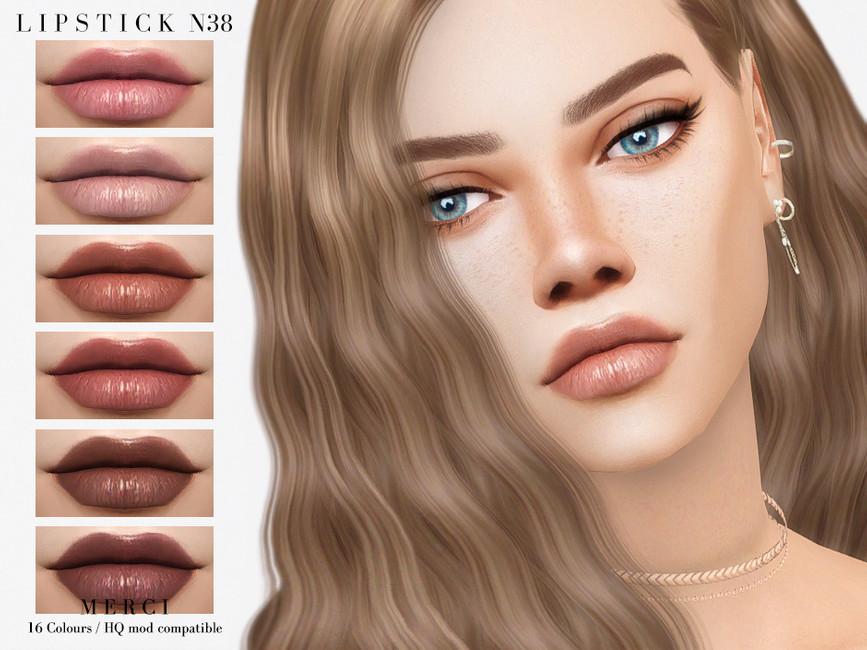 Помада Lipstick N38 для Симс 4