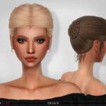 Прическа для женщин Симс 4