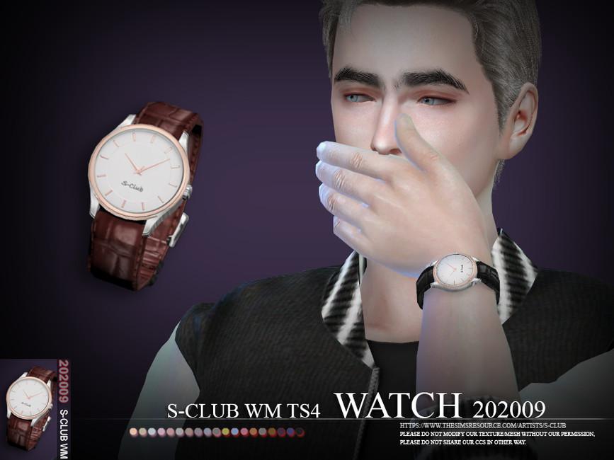 Часы Симс 4