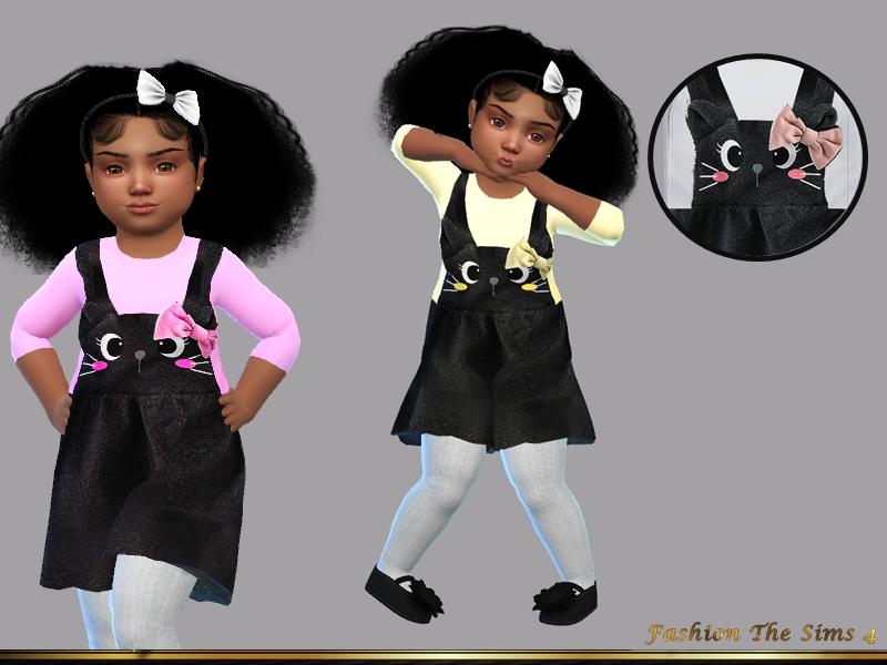 Детские платья для Симс 4
