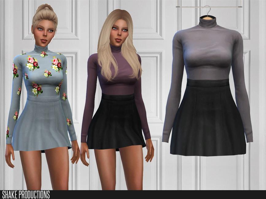 Допы платья для Симс 4