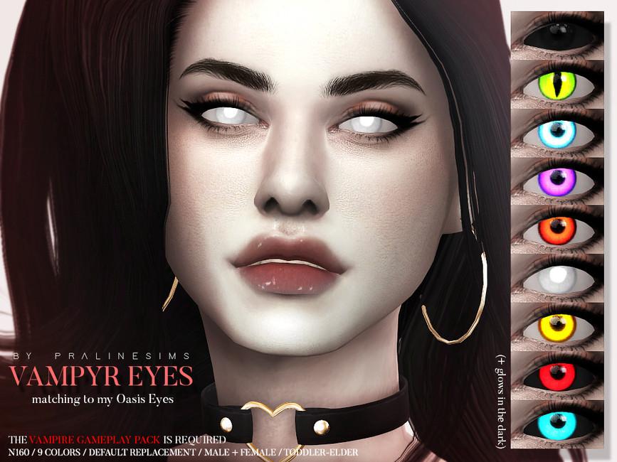 Глаза вампира Симс 4