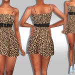 Короткие платья для Симс 4