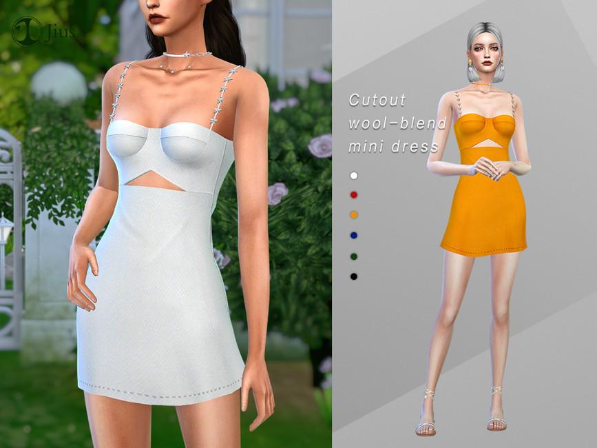 Короткие платья Симс 4