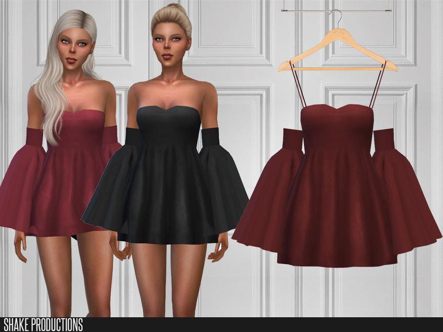 Красивые платья для Симс 4
