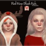 Красный нос Симс 4