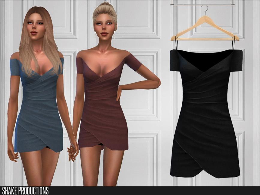 Летнее платье Симс 4