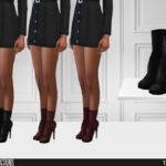 Мод на обувь для девушек Симс 4