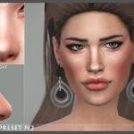 Мод нос женский Симс 4