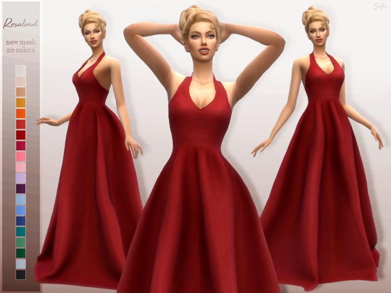 Моды бальные платья Симс 4