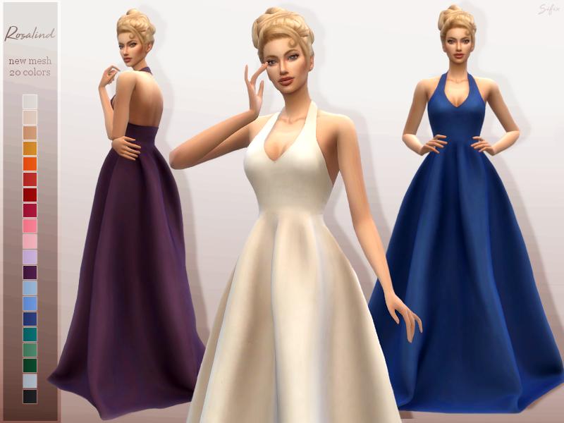 Моды бальные платья Симс 4 (картинка 2)
