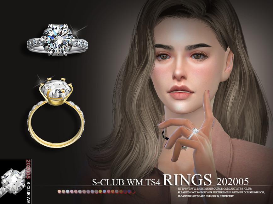 Моды кольца для Симс 4