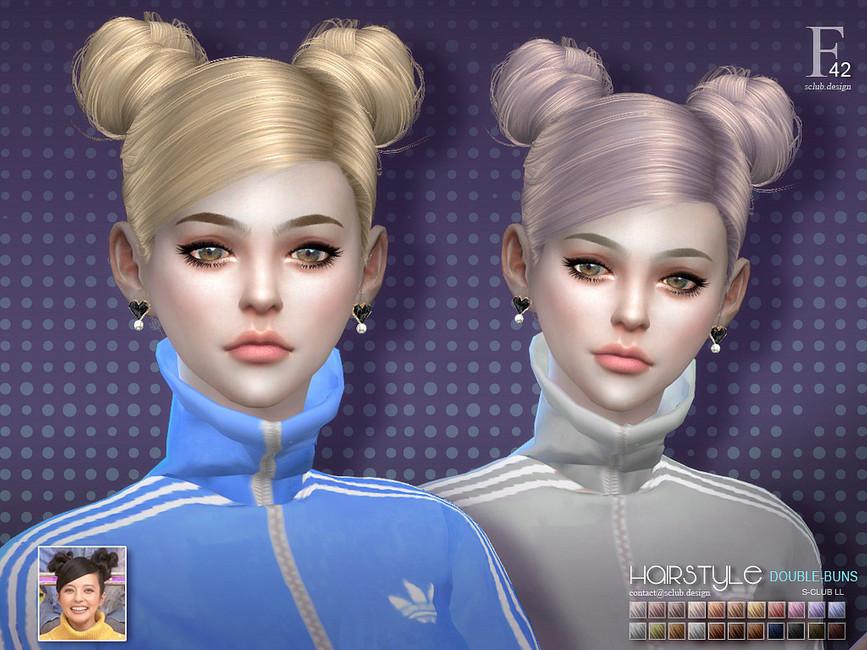Моды на прически для девушек Симс 4