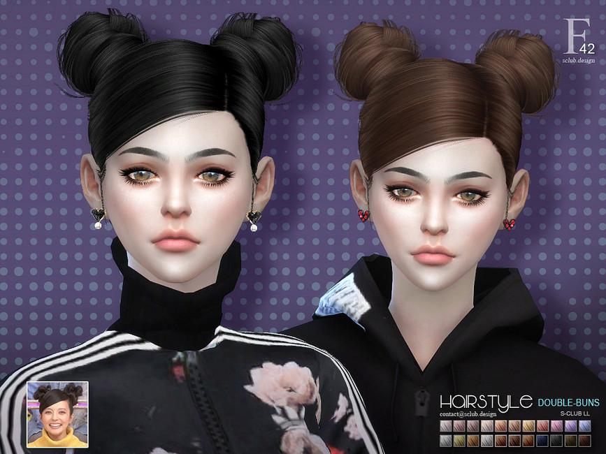 Моды на прически для девушек Симс 4 (картинка 2)