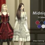 Моды на пышные платья Симс 4