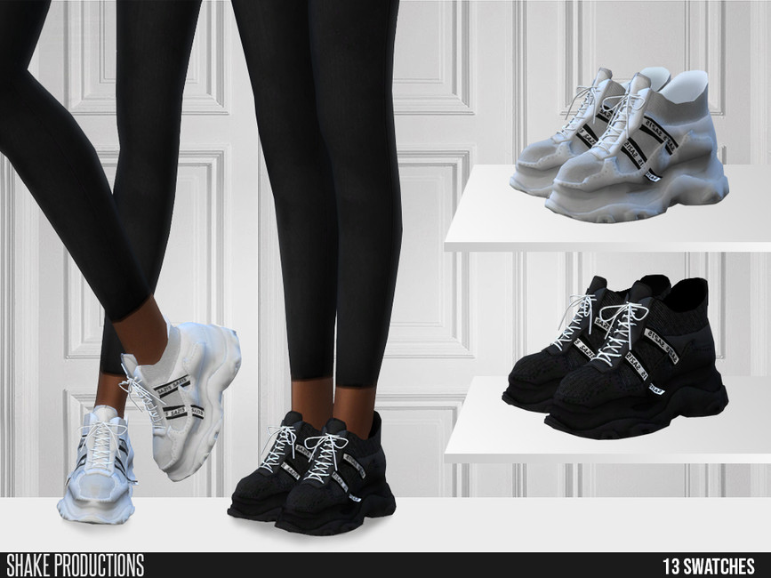 Моды обувь для Симс 4