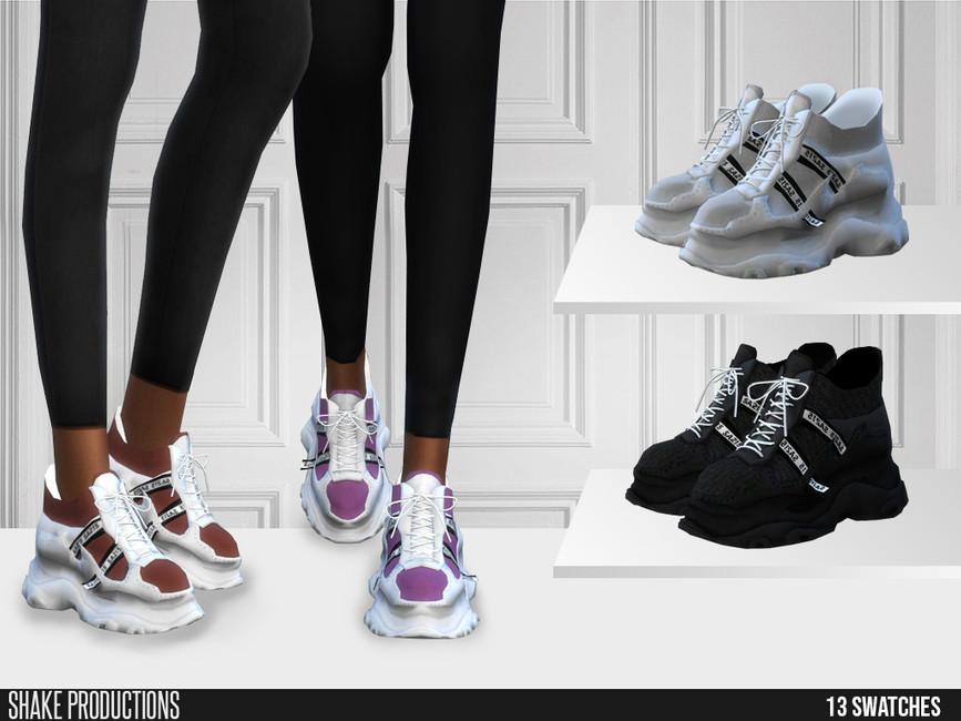 Моды обувь для Симс 4 (картинка 2)