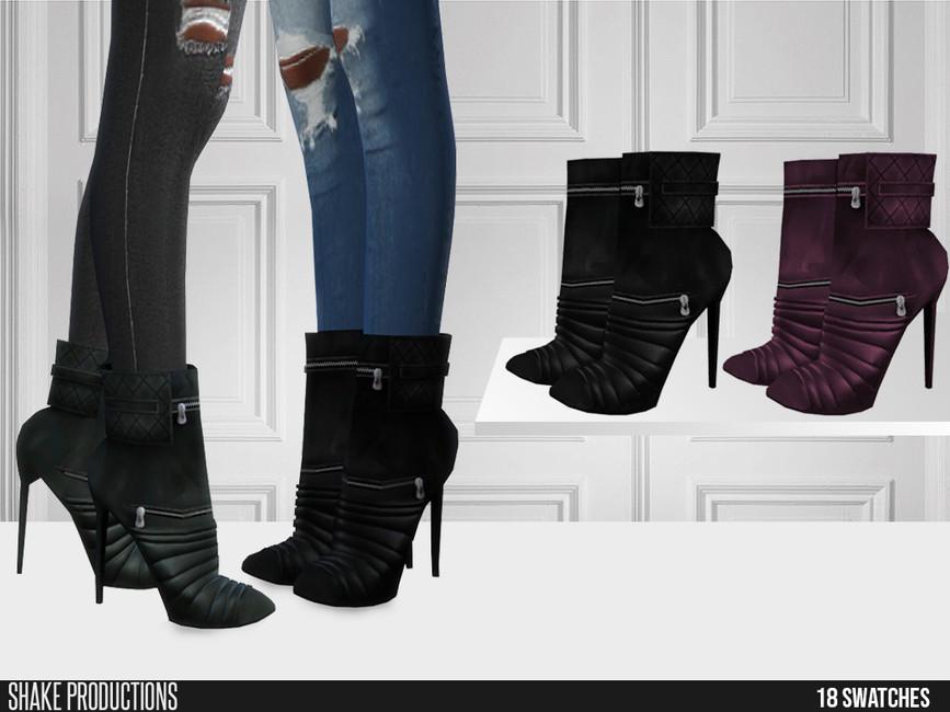 Моды обувь для женщин Симс 4