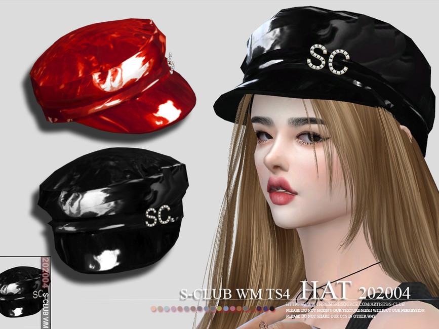 Моды шляпы Симс 4