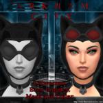 Моды уши кошки для Симс 4