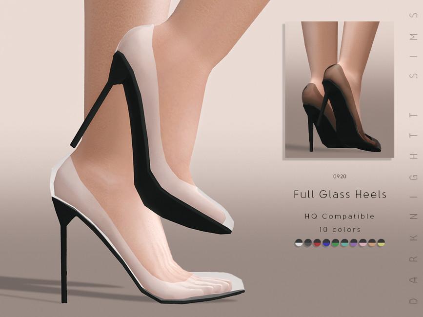 Моды женская обувь для Симс 4