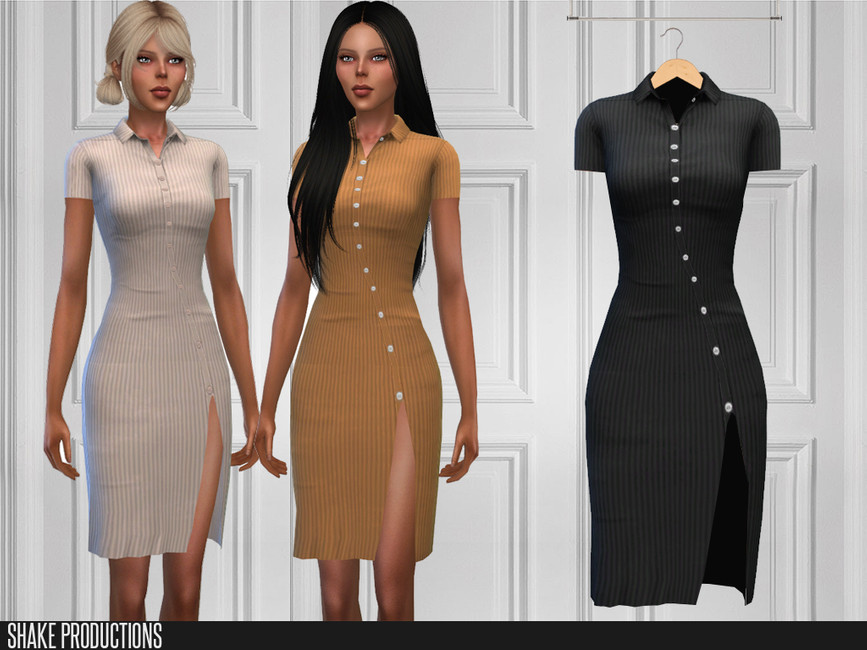 Моды женские платья Симс 4