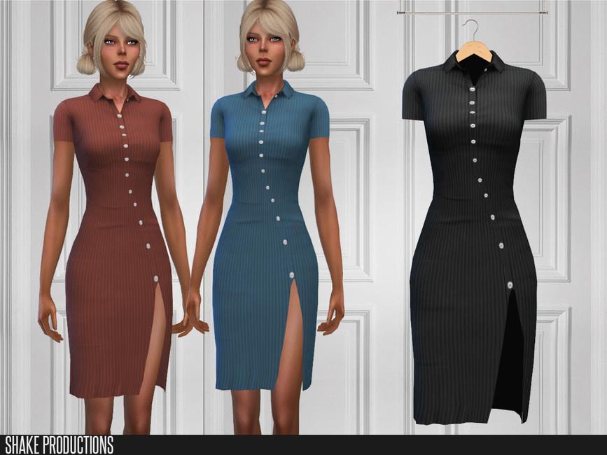 Моды женские платья Симс 4 (картинка 2)
