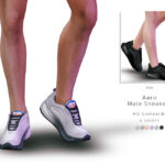 Мужская обувь Симс 4
