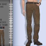 Мужские джинсы Симс 4