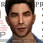 Мужские глаза Симс 4