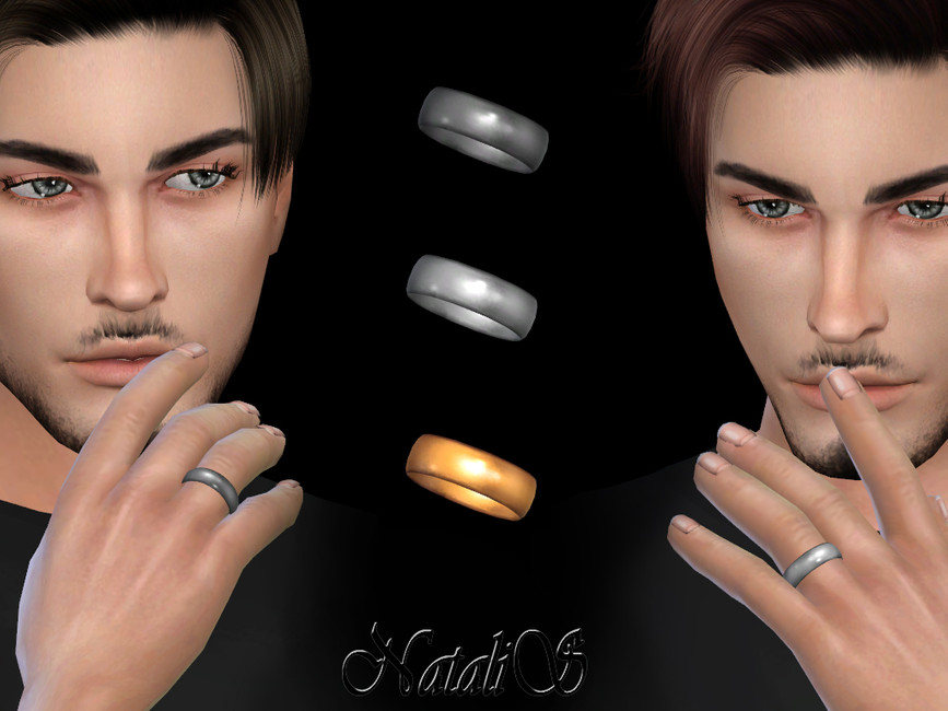 Мужские кольца Симс 4