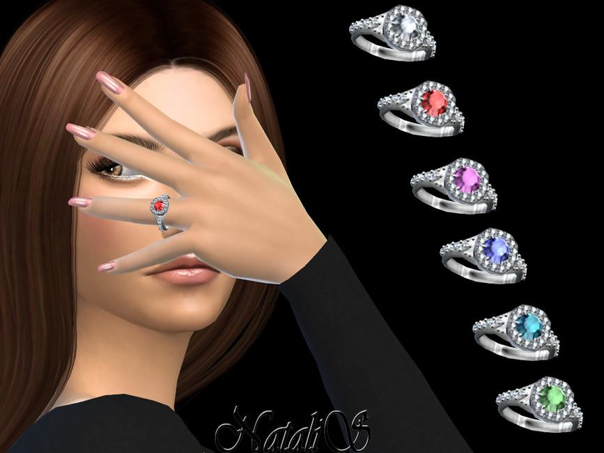 Обручальные кольца Симс 4