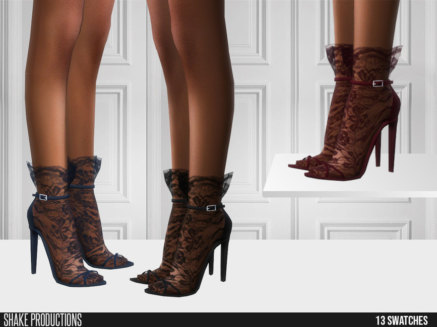 Обувь для женщин Симс 4