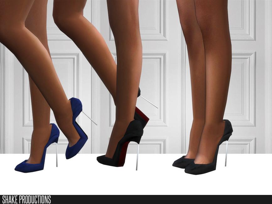 Обувь на каблуке Симс 4
