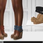 Обувь на платформе Симс 4