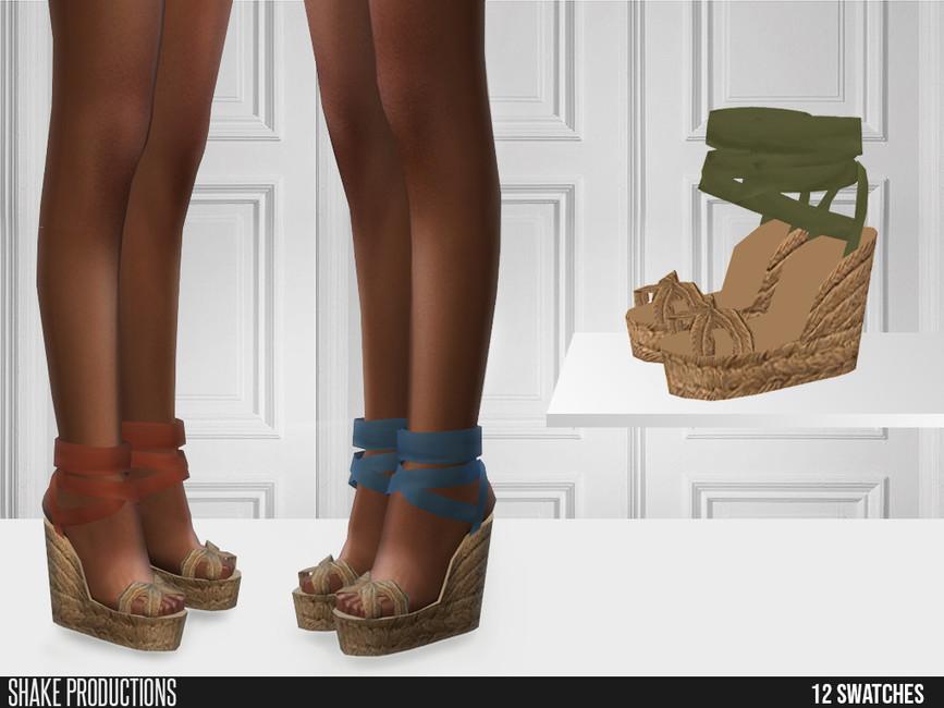 Обувь на платформе Симс 4 (картинка 2)